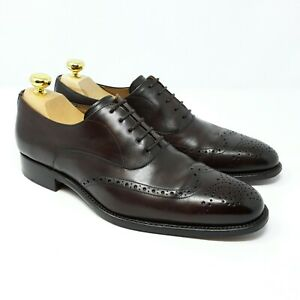 Shoepassion 5286 Full-Brogue Oxford Dunkelbraun Soft Calf (EU 42 UK 7,5 US 8,5)