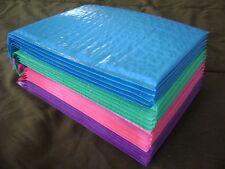 40 - 10 EA 6 X 9 Hot Pink Deep LAV Blue Teal Bubble Mailer Self Seal Envelope