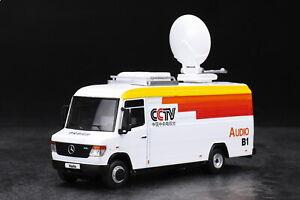 1/64 GCD Mercedes benz Vario CCTV broadcast Car Diecast car Model Toy Gift