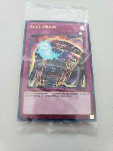 Yu-Gi-Oh! TCG: 1x Soul Drain   LART-EN011   Ultra Rare   Sealed Promo