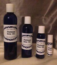 Acne Platinum Emu Oil 16 oz 100% Pure Grade A No Additives