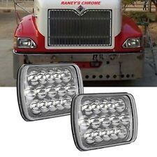 2X Sealed Beam LED Headlights for international 9900 9900I IX 9200 9400 Series