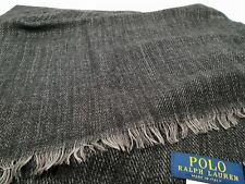 New Authentic Polo Ralph Lauren Men's Trans-Seasonal Scarf Clearance
