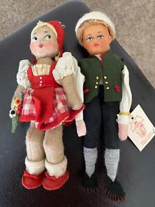 Vintage 1930's Made in Austria doll, 8 in