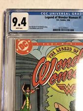 Legend Of Wonder Woman (1986) # 1 (CGC 9.4 WP) Canadian Price Variant CPV