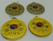 Tae Kwon Do Annual Friendship Tournament Gold Medal Collection - 4 Medals