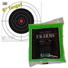 GREEN 1000 AIRSOFT BBs Pellets 6mm .12g BB Pistol Gun Rifle AMMO - FAST SHIPPING