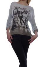 Maglie e camicie da donna a manica lunga taglia 44 grigie