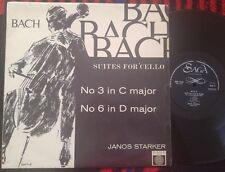 BACH - Cello Suites Nos. 3&6 JANOS STARKER SAGA UK LP