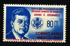 MESSICO - 1962 - Visita del Presidente degli Stati Uniti John F. Kennedy