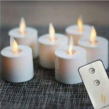 Luminara Tea Lights Set of 6 Ivory