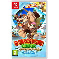 Donkey Kong Country: tropical Freeze de vídeo juego para Nintendo Switch región libre