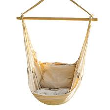 Hanging Rope Hammock Chair Swing Seat Brazilian Hammock Net Chair Porch Chair