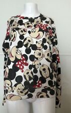 ELEVEN PARIS Sweater FELPA DISNEY TG S ELASTICIZZATA COTTON Mickey Mouse