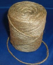 2 Ply Twisted Jute Twine String Rope 360 Feet Crafts Macrame Gift Wrapping NEW