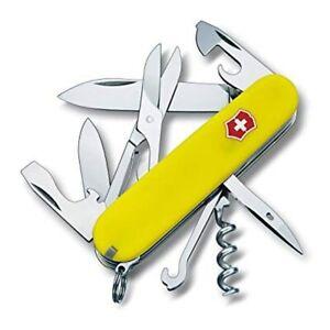 SWISS ARMY VICTORINOX 3.3703.70R-X2 CLIMBER STAY GLOW  MULTI  POCKET KNIFE.