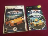 Need for Speed: Hot Pursuit 2 Platinum Hits (Microsoft Xbox, 2003)