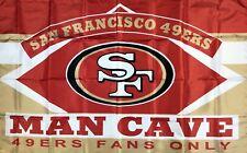 San Francisco 49ers Man-Cave NFL Football Flag 3x5 ft Football Sports Banner New