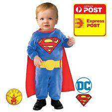 SUPERMAN BABY COSTUME NEWBORN 0-6MONTHS LAST1