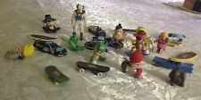 LOT of 23 Boy Party Favors 7 Tech Decks & Magnetic Figures, Bike, 4 Cars, Others
