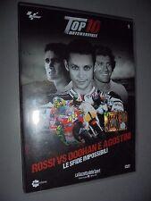 DVD N° 1 TOP 10 MOTOMONDIALE ROSSI VD DOOHAN E AGOSTINI LE SFIDE IMPOSSIBILI