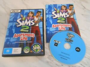 THE SIMS 2 APARTMENT LIFE EXPANSION PACK - PC GAME ADD-ON - ORIGINAL & COMPLETE
