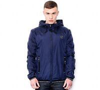 New Mens ANTONY MORATO Blue Marine Rain Winter Hooded Jacket Coat M L XL RRP£100
