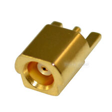 MCX Female Jack Edge Mount PCB Straight RF Coaxial Connector Adapter Convertor