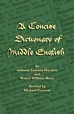 NEW A Concise Dictionary of Middle English (Middle English Edition)