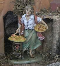 "5"" Nativity Figurine Euromarchi Presepio Manger Scene can use w/ Fontanini"