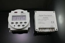 Rainproof AC 110V Digital Programmable Timer switch Relay With Weather Proof Box