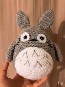 HUGE Anime Movie My Neighbor Totoro Gray Soft Plush Doll Gift Toy Stuffed 22cm