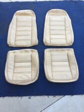 Original style all leather C3 Chevrolet Corvette seat covers 1972, 1973,1974