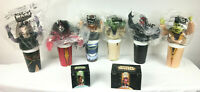 Star Wars Episode 1 Collectible Cups Lids Set of 6 w Sith Speeder and Amidala