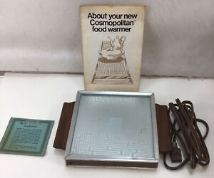 Salton Hotray Warming Tray Model H-100 Original Box Instructions Tested