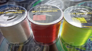 Axia High Strength Mainline Sea Fishing Line All Sizes and Colours