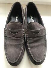 Prada Suede Shoes size 6 , 39 Eu authentic 100% Boots Driving Moccasins