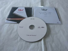 BLUR - UNDER THE WESTWAY - FRENCH ONLY PROMO CD!!!!!!!!!