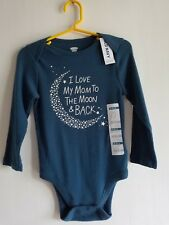 Old Navy Infant Long Sleeve One Piece 18-24 Mo I Love My Mom to The Moon & Back
