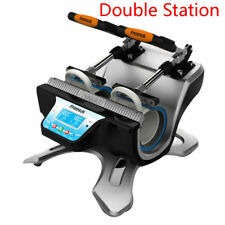 11oz Double Station Mug Heat Press Machine Sublimation Printing Craft Business