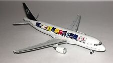 """GEMINI JETS AUSTRIAN A320-200 - EARLY """"STAR ALLIANCE"""" LIVERY 1/400 SCALE"""