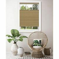 Achim Importing Co. Top Down-Bottom Up Cordless Honeycomb Cellular Shade Wheat