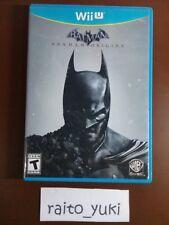Batman Arkham Origins Nintendo Wii U Game NTSC US Complete