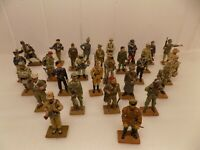 JOB LOT DEL PRADO SOLDIER FIGURES. 29 TOTAL. USED/PRE-OWNED.  (NCB)