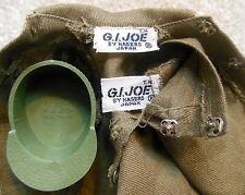 Vintage 1960s GI Joe Action Soldier - TM Japan FATIGUE OUTFIT Shirt Pants & Cap