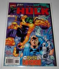 The Incredible HULK # 473  Marvel Comic   February 1999    VFN/NM