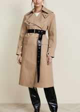 * HELMUT LANG Ladies Utility Machintosh Cotton Mac Coat Jacket Cargo  5-40