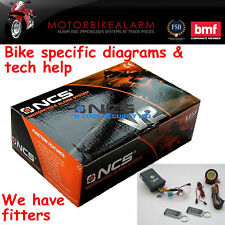 NCS V2 MOTORBIKE MOTORCYCLE ALARM & IMMOBILISER ALSO FOR QUAD / ATV / TRIKE