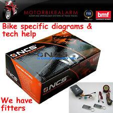 NCS V2 Moto Alarma de motocicleta & immobiliser también para quad / atv / Trike
