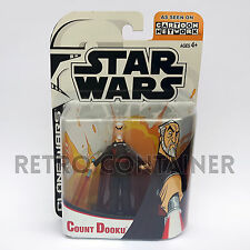 STAR WARS Kenner Hasbro Action Figure - CLONE WARS CN ANIMATED - Count Dooku